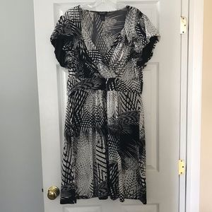 Spense Woman black and white dress (14)